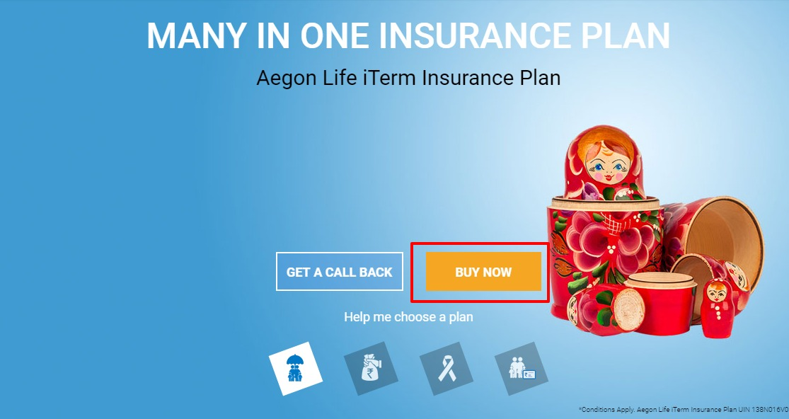 Aegon Religare Buy Online