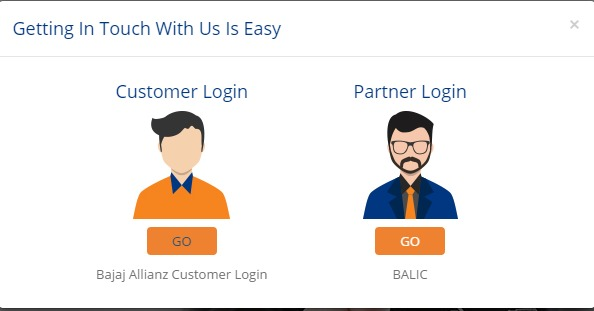 Bajaj Allianz Life Insurance Customer Login