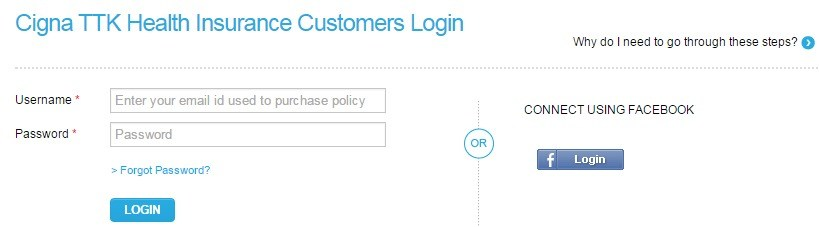 Cigna TTK Customer Login