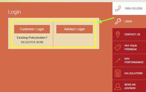 Future Generali Life Customer Login