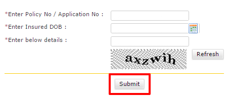 Birla Sun Life Registration form