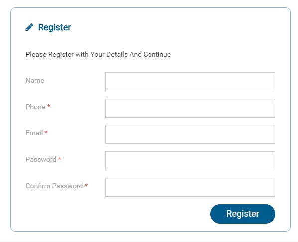 Star Health Registration