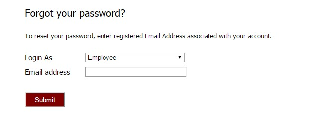 Future Generali eCare Forgot Password
