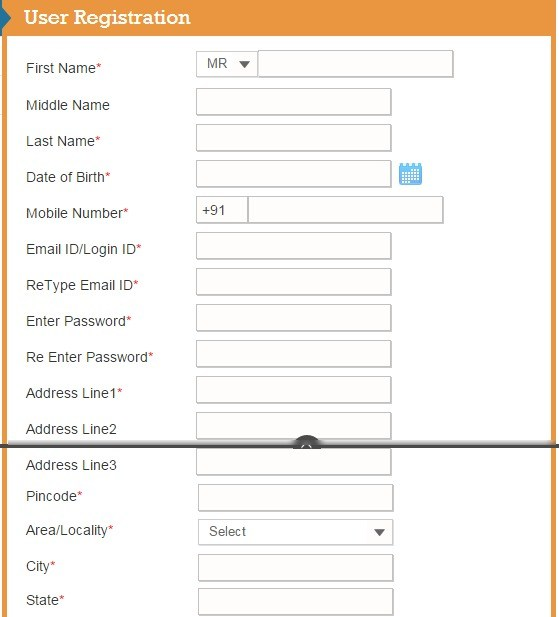 Liberty Videocon User Registration Form