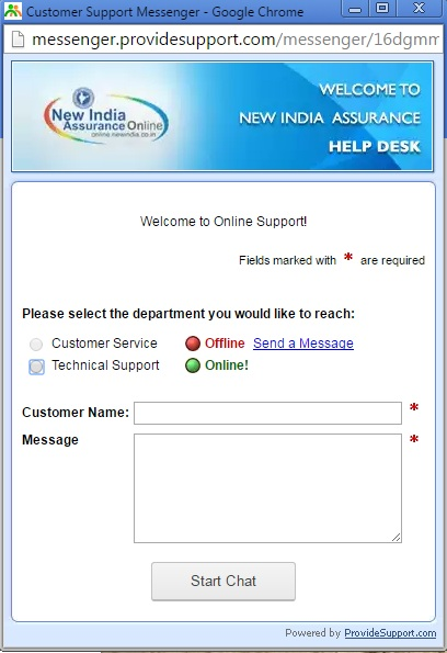 New-India-Live-Chat