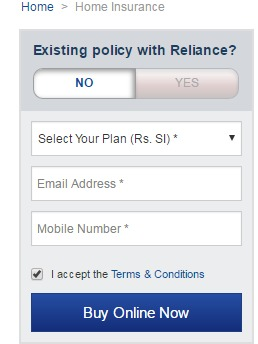 Reliance Insurance Online Payment