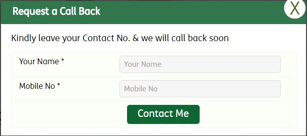 Religare Request Call Back