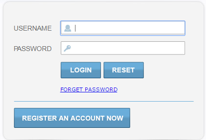 Sahara Customer Login Page