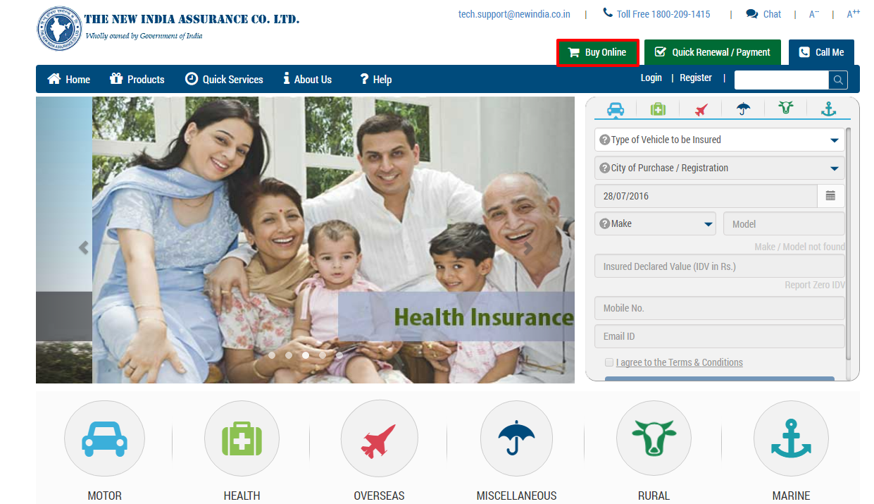 The-New-India-Assurance-Policy-Buy-Online