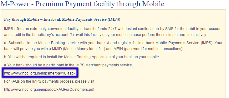 United-India-Mobile-Payment