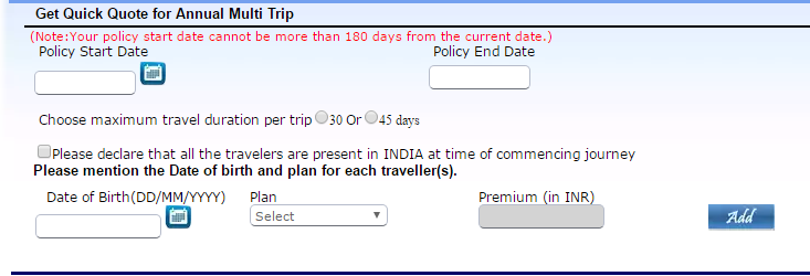 Universal Sompo Travel Insurance 3